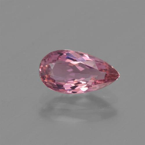 1.1ct Pear Facet Hot Pink Tourmaline Gem (ID: 419675)