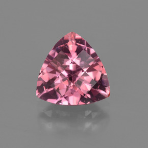 thumb image of 2.3ct Trillion Checkerboard Rose Pink Tourmaline (ID: 419691)
