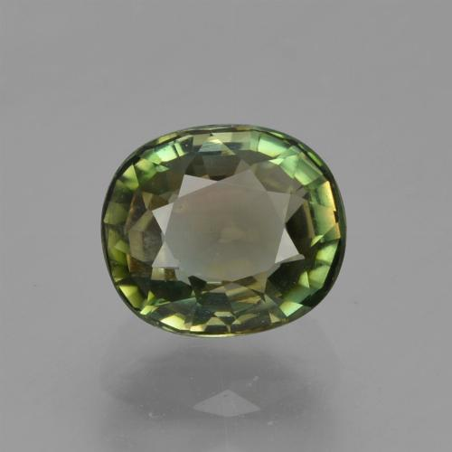 Medium Light Green Turmalina Gema - 1.2ct Forma ovalada (ID: 419850)