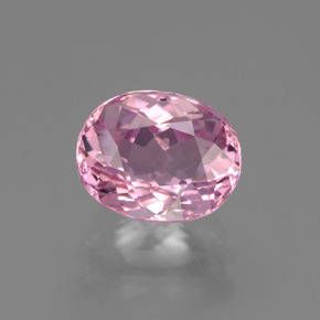Pink Tourmaline Gem - 2.4ct Oval Facet (ID: 441268)
