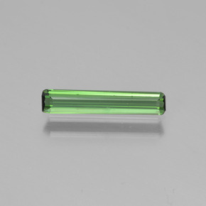 Earthy Green Tourmaline Gem - 0.7ct Octagon Step Cut (ID: 450189)