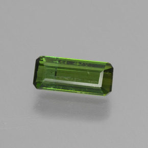 thumb image of 0.7ct Octagon Step Cut Green Tourmaline (ID: 450308)