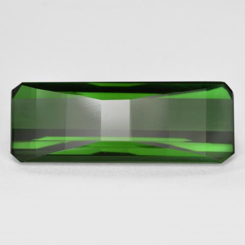 Green Tourmaline Gem - 5.8ct Octagon Step Cut (ID: 470085)