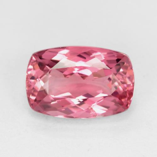 Medium Pink Tormalina Gem - 2.1ct Taglio a cuscino (ID: 483990)