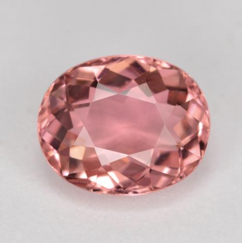 Indian Red Turmalina Gema - 2.4ct Forma ovalada (ID: 488577)
