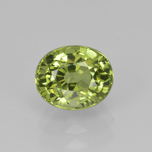 Medium Green Turmalina Gema - 1.9ct Forma ovalada (ID: 504010)