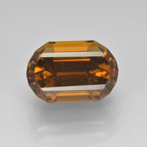 Orangeish Brown Tourmaline Gem - 4.2ct Cushion-Cut (ID: 504021)