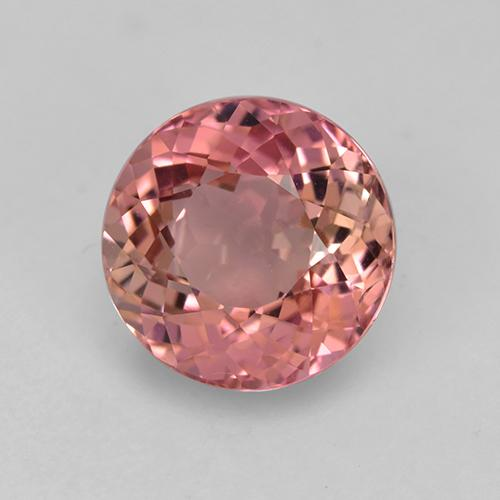 Fruit Punch Red Turmalina Gema - 2.2ct Faceta Redonda (ID: 521723)