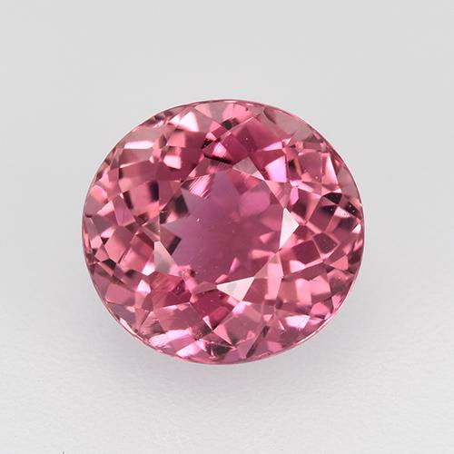 Fruit Punch Red Tourmaline Gem - 1.9ct Oval Facet (ID: 522266)