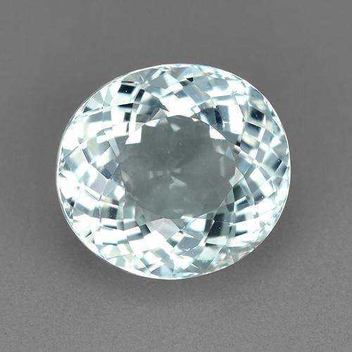Blue Tourmaline Gem - 2.8ct Oval Portuguese-Cut (ID: 522571)