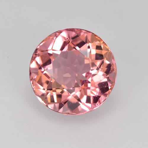 Rosewood Pink トルマリン 宝石 - 2ct ラウンドファセット (ID: 523195)