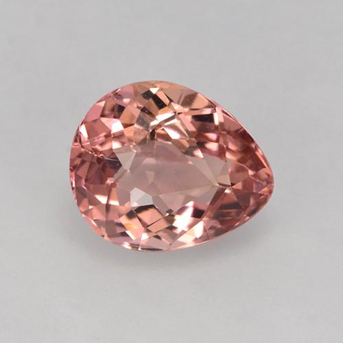 1.7ct Pear Facet Dark Pink Tourmaline Gem (ID: 524910)