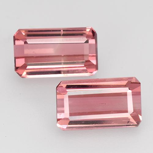 1.5ct Octagon Facet Intense Pink Tourmaline Gem (ID: 528175)