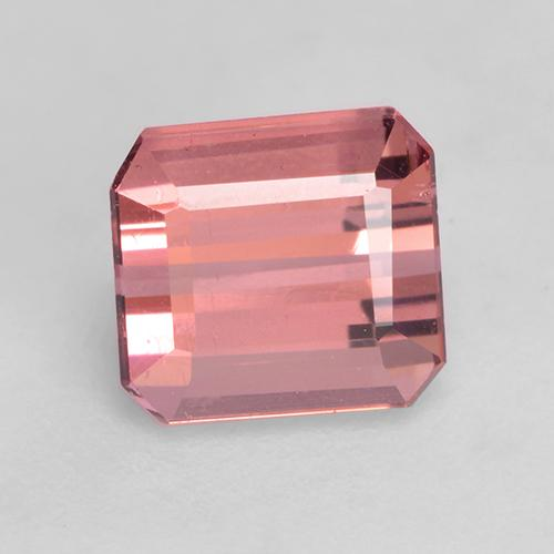 1.5ct Octagon Facet Intense Pink Tourmaline Gem (ID: 528801)