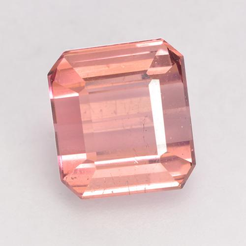 1.9ct Octagon Facet Medium Pink Tourmaline Gem (ID: 528911)