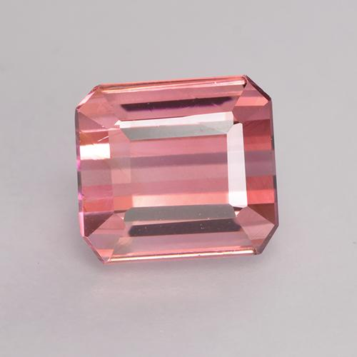 1.9ct Octagon Facet Medium Pink Tourmaline Gem (ID: 529074)