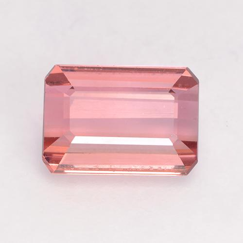 1.4ct Octagon Facet Light Pink Tourmaline Gem (ID: 529077)