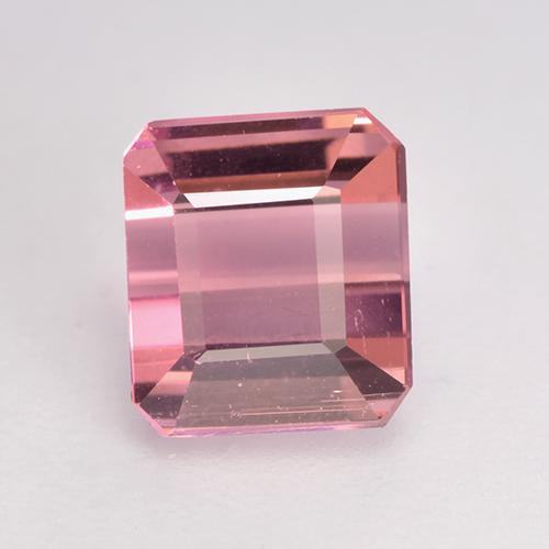 1.3ct Octagon Facet Light Pink Tourmaline Gem (ID: 529524)