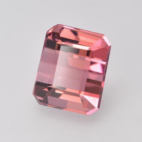 1.6ct Octagon Facet Light Pink Tourmaline Gem (ID: 529527)