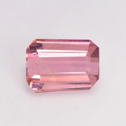 1.4ct Octagon Facet Light Pink   Bubblegum Tourmaline Gem (ID: 529534)