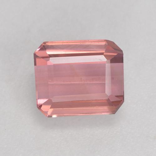 1.4ct Octagon Facet Light Hot Pink Tourmaline Gem (ID: 530092)