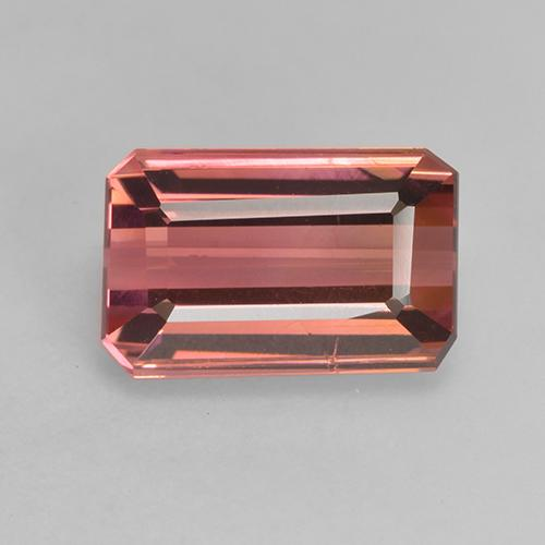 3.6ct Octagon Facet Medium Pink Tourmaline Gem (ID: 531168)