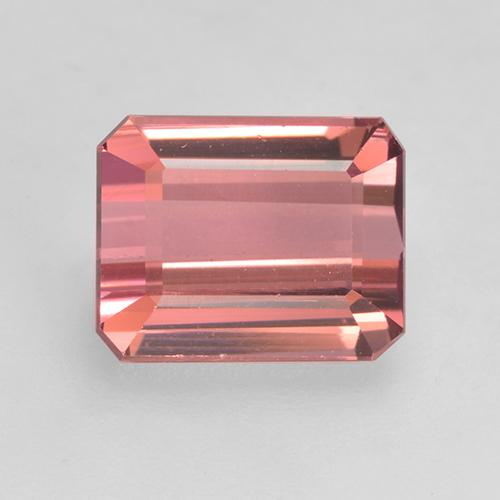 2.4ct Octagon Facet Rosewood Pink Tourmaline Gem (ID: 531551)
