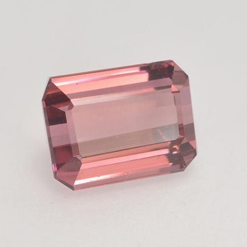 3.2ct Octagon Facet Medium Pink Tourmaline Gem (ID: 531582)