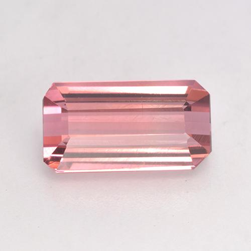 3.5ct Octagon Facet Intense Pink Tourmaline Gem (ID: 531584)