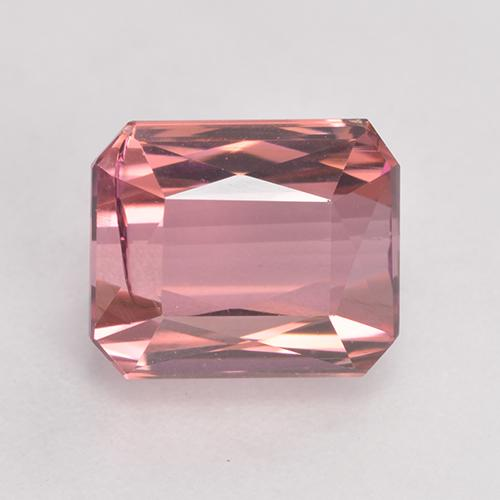 Intense Pink Tourmaline Gem - 3.6ct Octagon / Scissor Cut (ID: 531799)