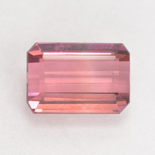 3.2ct Octagon Facet Medium Pink Tourmaline Gem (ID: 531802)