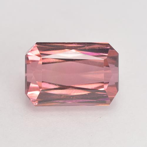 Medium Pink Tourmaline Gem - 3.7ct Octagon / Scissor Cut (ID: 531806)