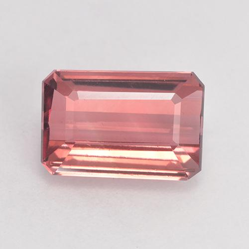 3ct Octagon Facet Rosewood Pink Tourmaline Gem (ID: 531807)
