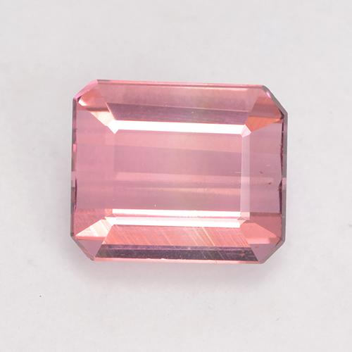 1.4ct Octagon Facet Hot Pink Tone Tourmaline Gem (ID: 533289)