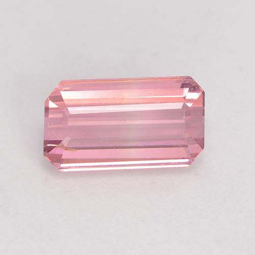 1.6ct Octagon Facet Light Hot Pink Tourmaline Gem (ID: 533293)