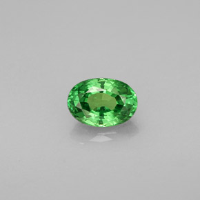 Buy 0.57ct Chrome Green Tsavorite Garnet 5.88mm x 4.09mm from GemSelect (Product ID: 245430)