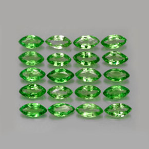 Buy 3.39 ct Chrome Green Tsavorite Garnet 5.06 mm x 2.6 mm from GemSelect (Product ID: 261579)