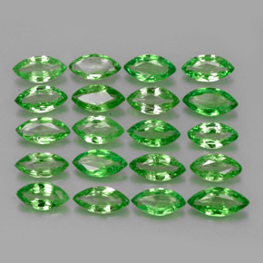Buy 3.32 ct Chrome Green Tsavorite Garnet 5.26 mm x 2.7 mm from GemSelect (Product ID: 261580)