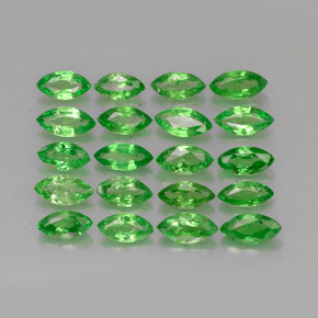 Buy 3.40 ct Chrome Green Tsavorite Garnet 5.23 mm x 2.6 mm from GemSelect (Product ID: 261616)