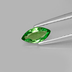 Buy 0.43 ct Chrome Green Tsavorite Garnet 7.15 mm x 3.7 mm from GemSelect (Product ID: 272166)