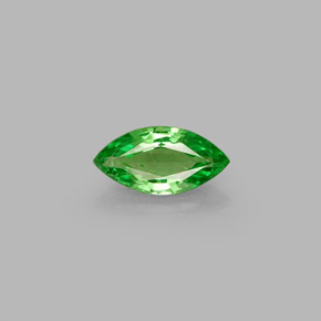 Buy 0.44ct Chrome Green Tsavorite Garnet 7.16mm x 3.64mm from GemSelect (Product ID: 272172)