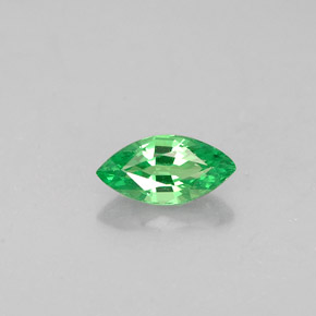 Buy 0.31 ct Chrome Green Tsavorite Garnet 6.16 mm x 3.1 mm from GemSelect (Product ID: 273001)