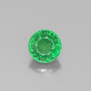 Buy 0.52 ct Chrome Green Tsavorite Garnet 4.53 mm  from GemSelect (Product ID: 317687)