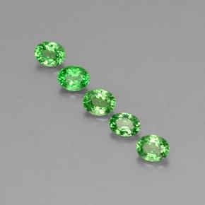 0.3ct Oval Facet Lively Green Tsavorite Garnet Gem (ID: 346481)