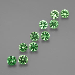 Buy 1.96 ct Green Tsavorite Garnet 3.56 mm  from GemSelect (Product ID: 374775)
