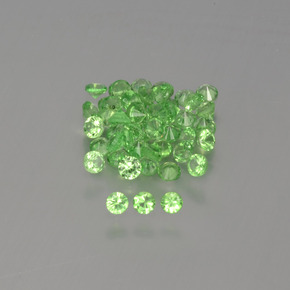0ct Diamond-Cut Green Tsavorite Garnet Gem (ID: 396073)