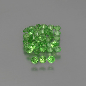 thumb image of 0ct Diamond-Cut Green Tsavorite Garnet (ID: 397586)