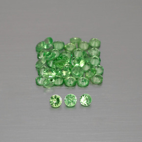 thumb image of 0ct Diamond-Cut Green Tsavorite Garnet (ID: 397849)