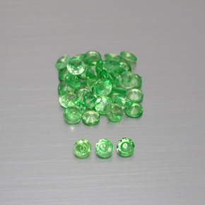 Buy 1.84 ct Green Tsavorite Garnet 2.30 mm  from GemSelect (Product ID: 397971)