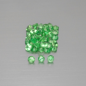 thumb image of 0.1ct Diamond-Cut Green Tsavorite Garnet (ID: 397978)